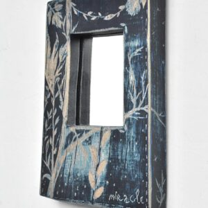 """Buy interior mirror made of wood """"Nocturno"""" Miracle House"""